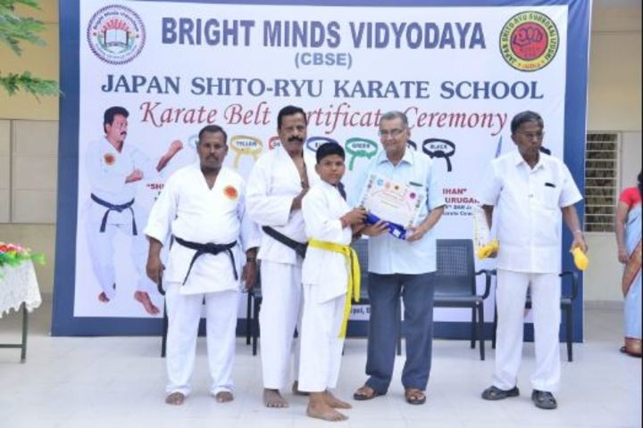 Bright Minds Vidyodaya-Karate Activity