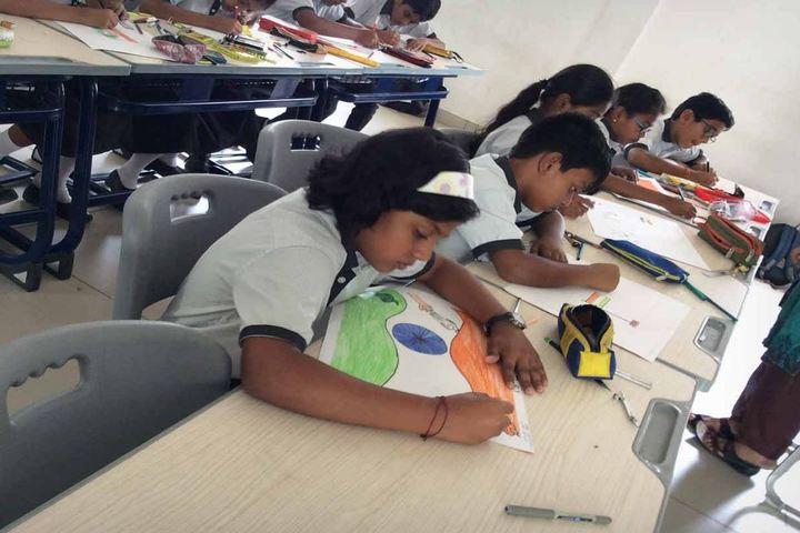 Brilliant Vidya Bhavan-Drawing Competition