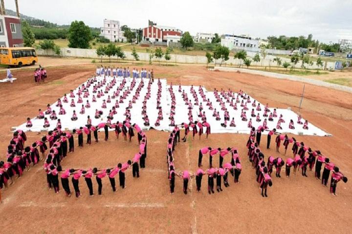 Brindhavan Vidhyalaya Public School-Yoga Day