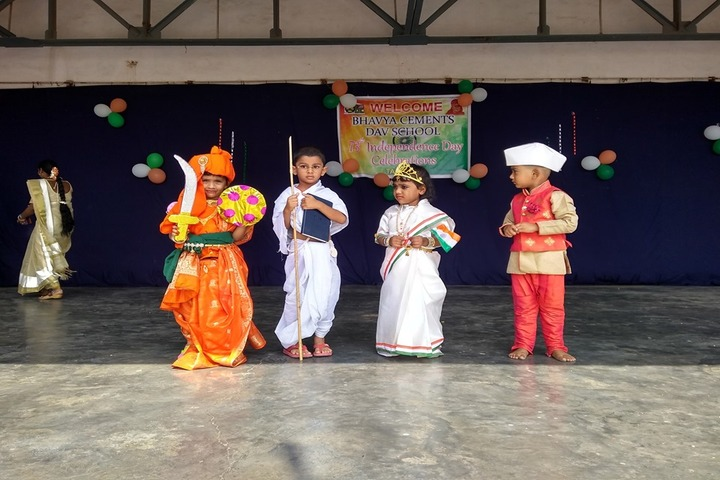 Bhavya Cements DAV School-Fancy Dress