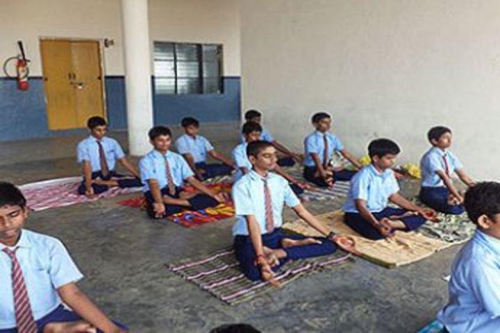 Bhavya Cements DAV School-Yoga