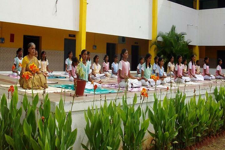 Cambridge Public E-School-Yoga Day