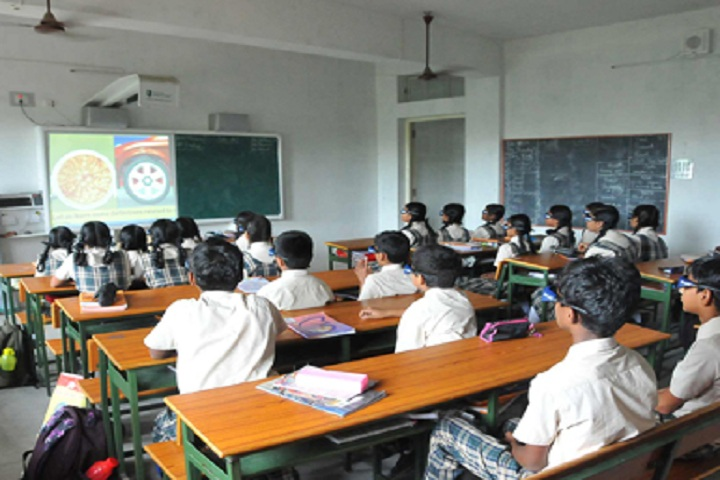 Cauvery Global School-Classroom smart