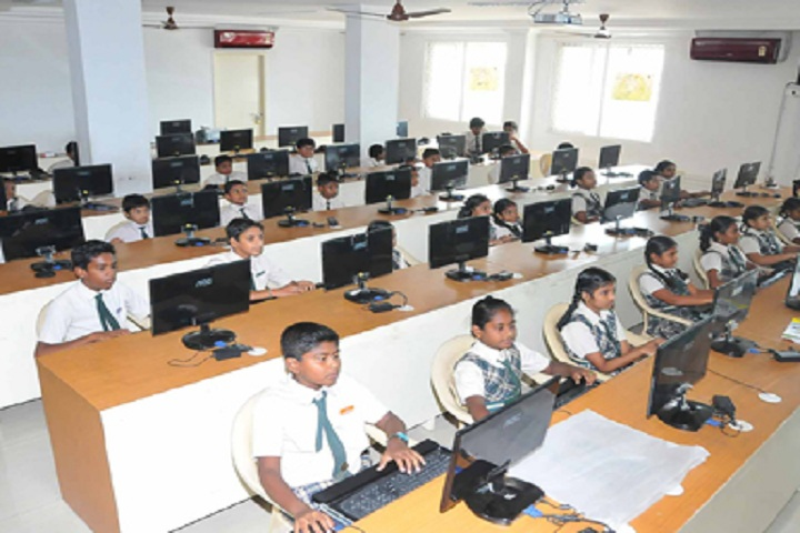 Cauvery Global School-IT-Lab full view