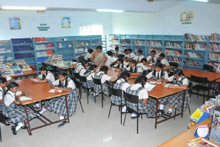Cauvery Global School-Library