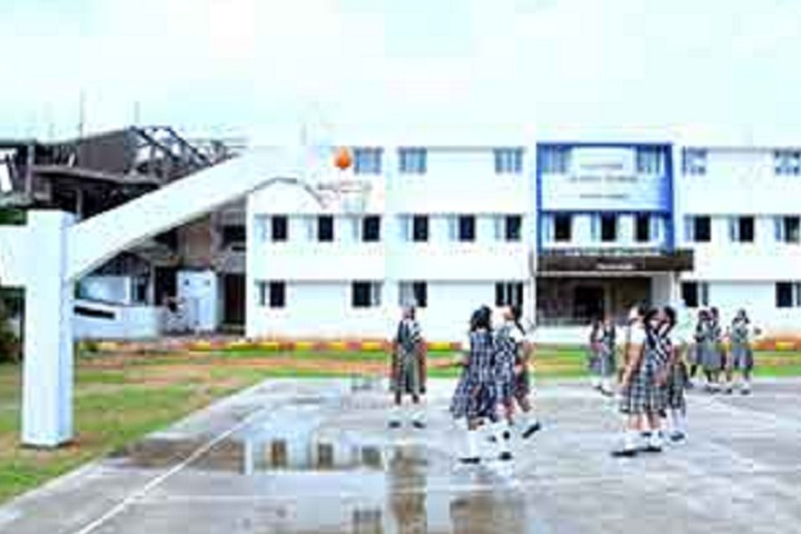 Cauvery Global School-Sports basketball