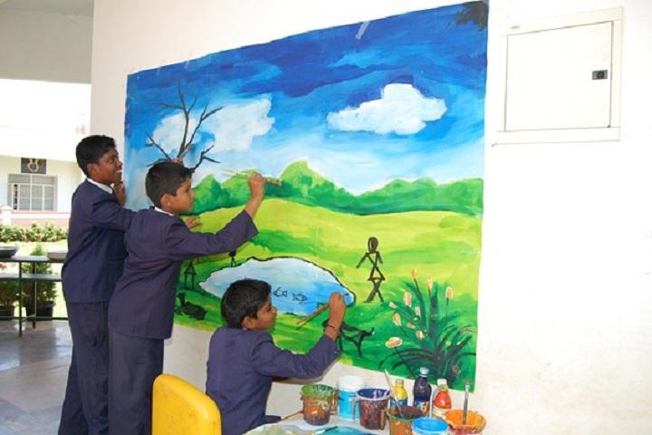 Cauvery International School-Student Art