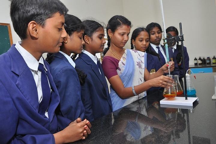 Cauvery International School - Science Lab