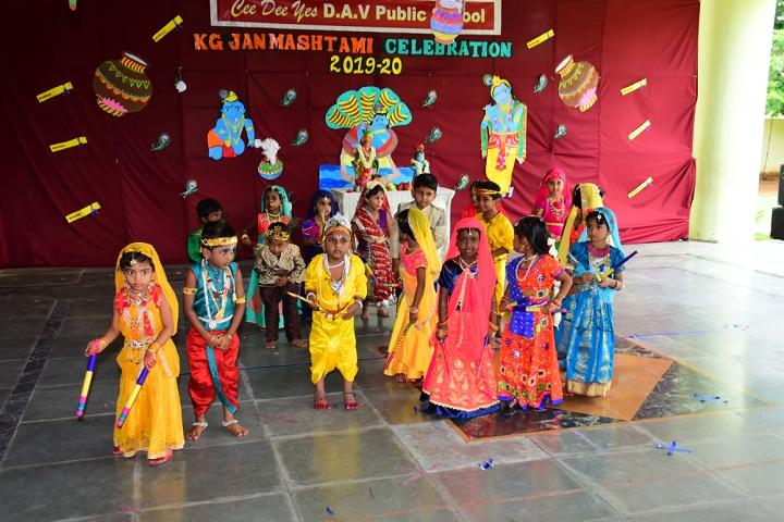 Ceedeeyes DAV Public School-Krishnastami Celebrations