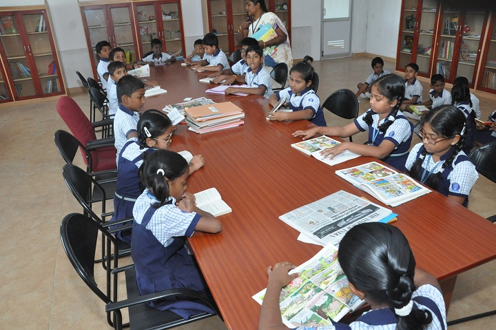 Ceedeeyes Dav Public School - Library