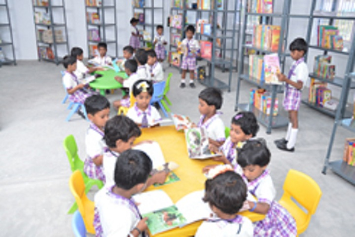 Chandra National School-Library