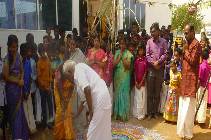 Chandra National School-Pongal Festival