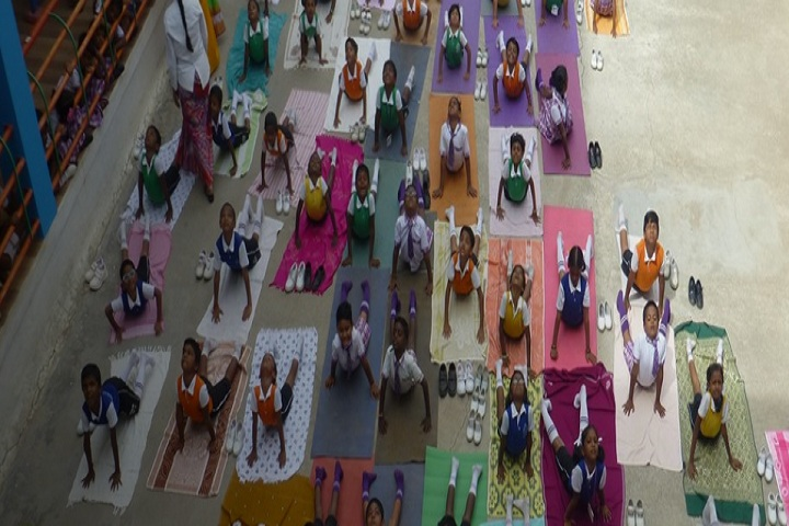 Chandra National School-Yoga