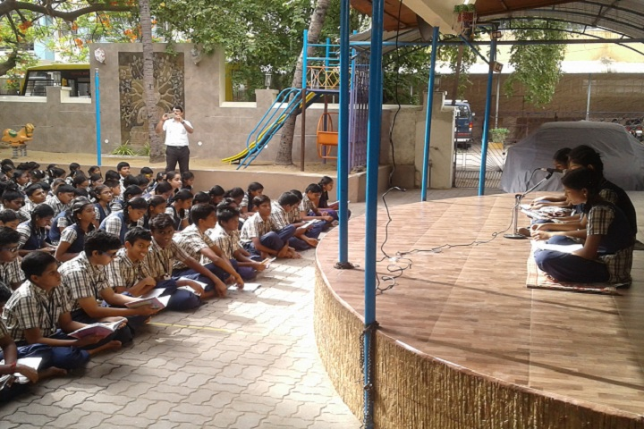 Chathrapathy Shivaji DAV School-Others singing