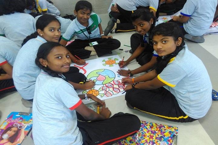 Chelammal Vidhyaashram - Workshop