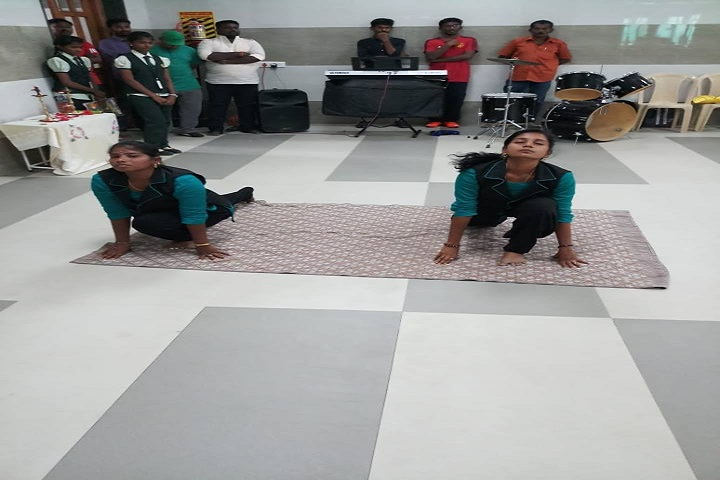 Chelammal Vidhyaashram - Yoga