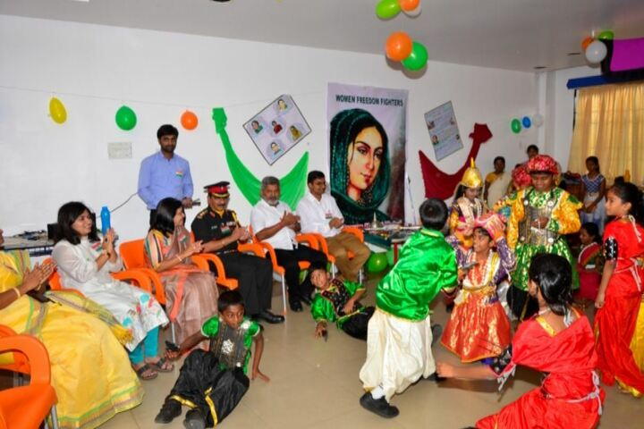 Chettinad Public School-Independence Day