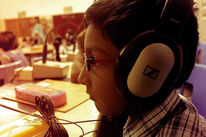 Chettinad Vidyashram-Language Lab