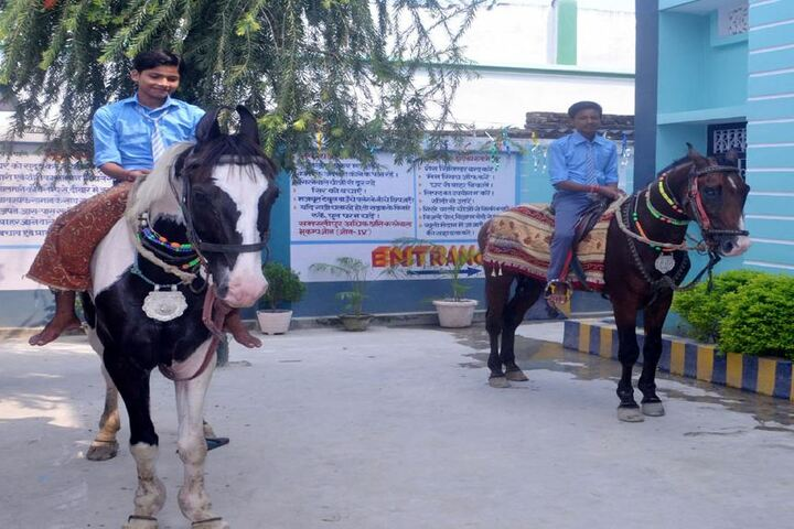 New Samastipur Public School-Horse Riding