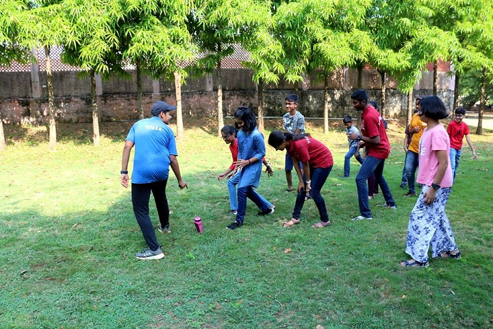 Chinmaya International Residential School-Orientaion program students