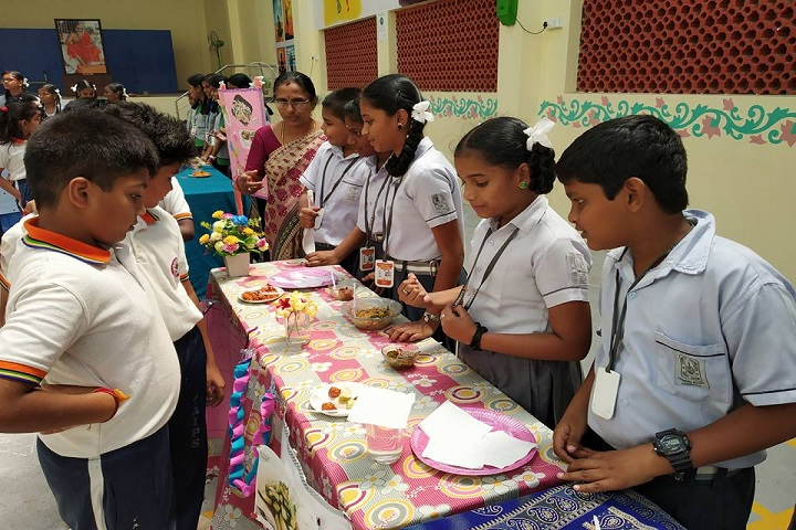 Chinmaya Vidyalaya-Food Festival
