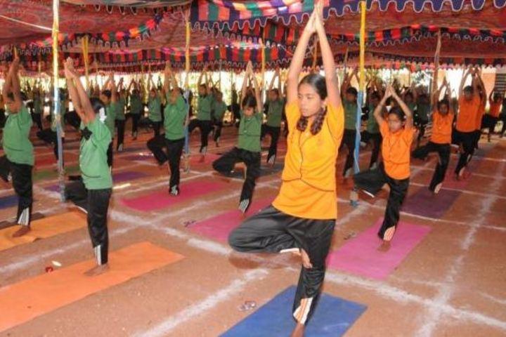 Chinmaya Vidyalaya-Yoga