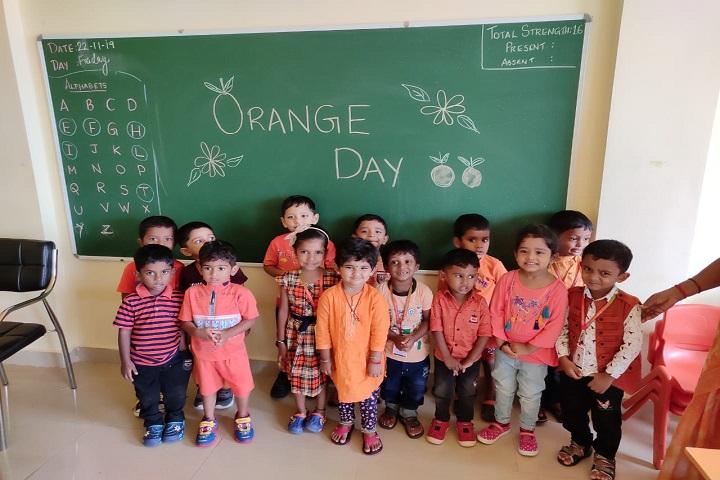 CMC International School-Orange Day Celebration