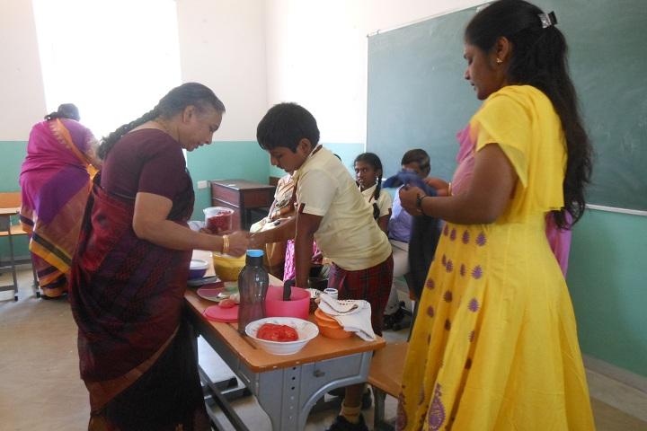 Coimbatore Public School-Grand Parents day
