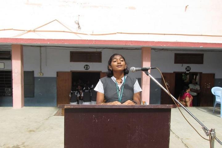 DAV BHEL School-Singing
