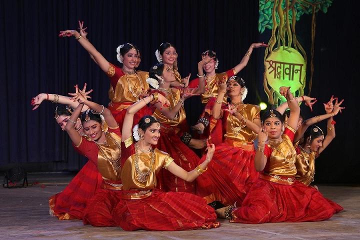 D A V Girls Senior Secondary School-Dance