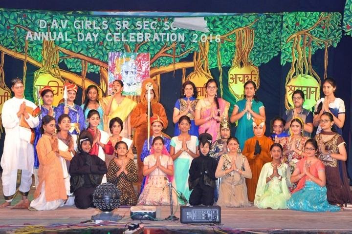 D A V Girls Sr Sec School-Annual Day