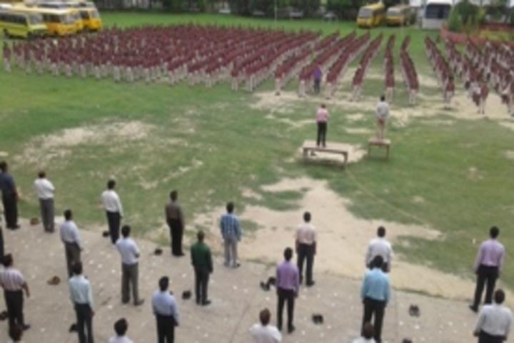 Nikhil Shyama D A V Public School-Assembly
