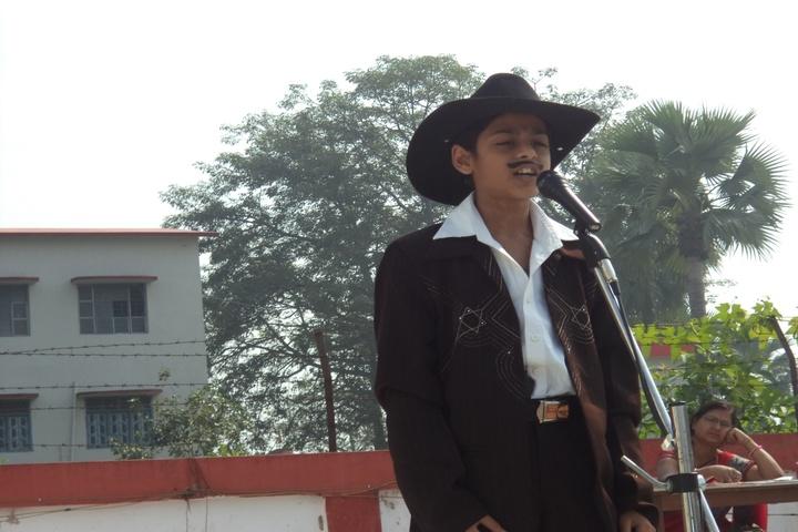 Nikhil Shyama D A V Public School-Fancy Dress