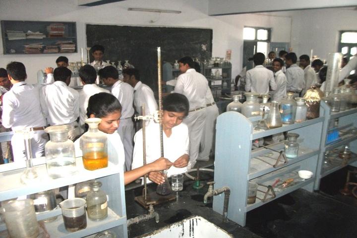 Nikhil Shyama D A V Public School-Science Lab