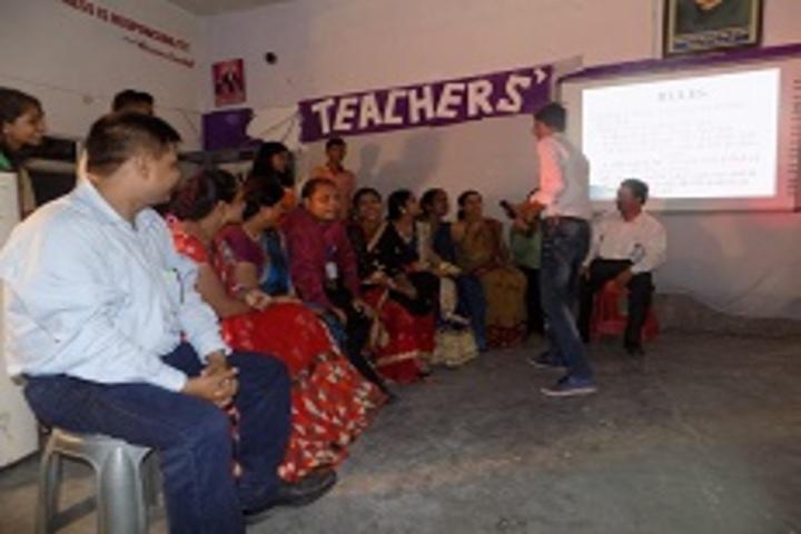 Nikhil Shyama D A V Public School-Teachers Day Celebration