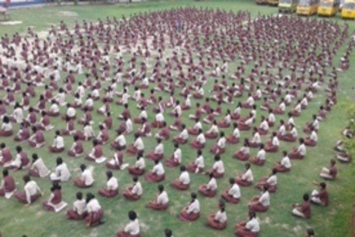 Nikhil Shyama D A V Public School-Yoga Day