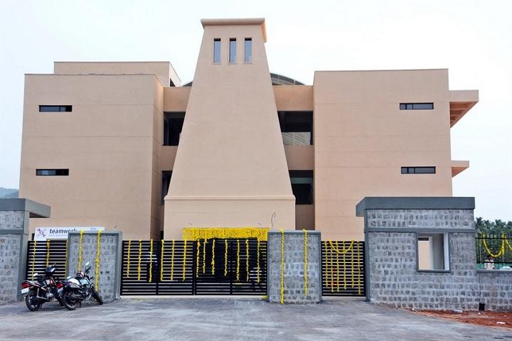 Delhi Public School-Campus View Entrance