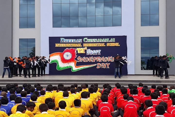 Dheeran Chinnamalai International Residential School-Independence Day