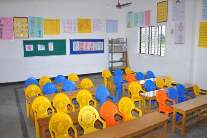 Dhrona Public School-Classroom