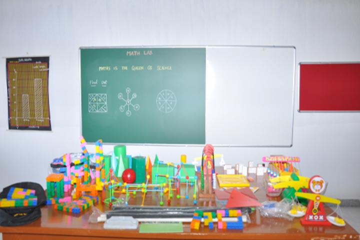 Dhrona Public School-Maths Lab