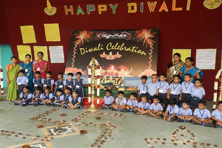 Dindigul Nadar Uravinmurai S M B Manickam Nadar Packiathammal National Public School-Diwali Celebrations