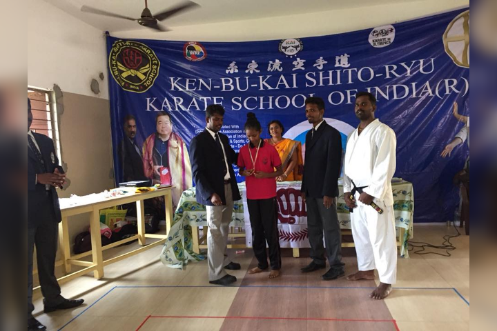 School Participation in Karate Championship