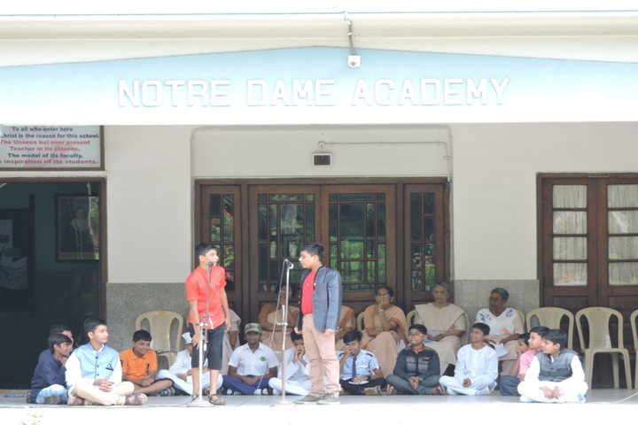 Notre Dame Academy-Activities