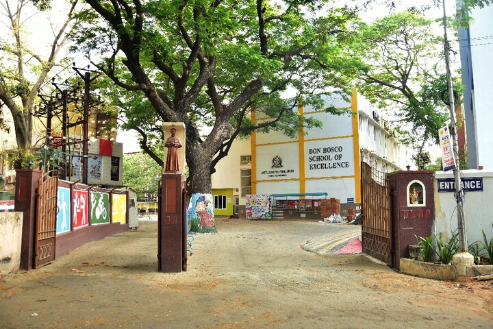 Don Bosco School of Excellence-Entrance