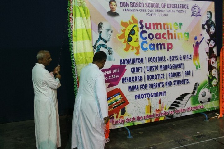 Don Bosco School of Excellence-Summer Camp