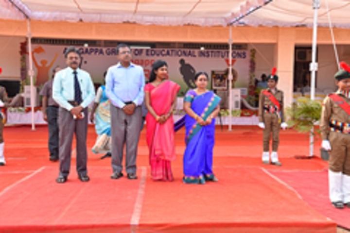 Dr Alagappa Academy-Independence Day