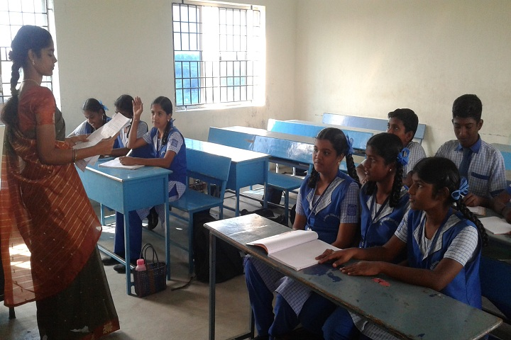 Dr Jacobs Hitech School-classroom