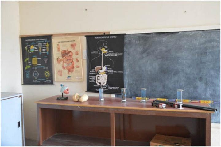 Dr Jacobs Hitech School-science lab