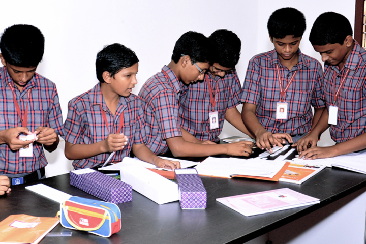 Ebenezer Marcus International School And Junior College-Maths Lab