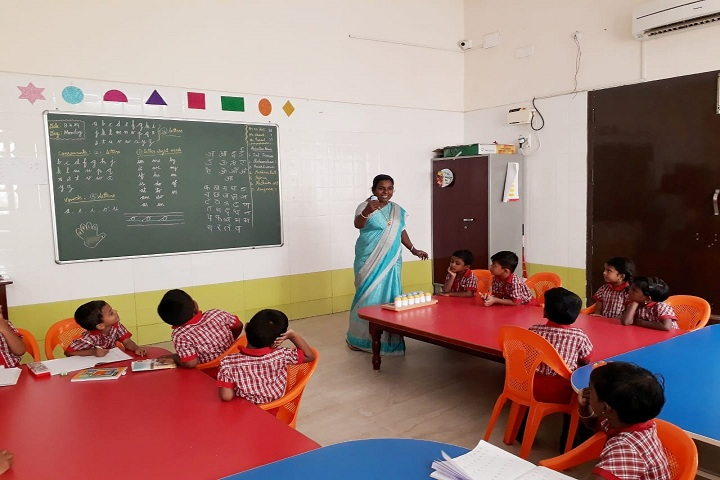 Ebenezer Marcus International School and Junior College-Classroom